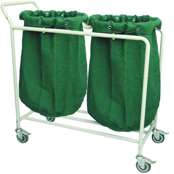 Trolley With Rack Amp Linen Hamper Hospital Steel Furniture