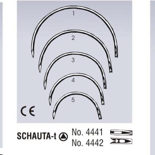 Needle with Trocar Point SCHAUTA-t