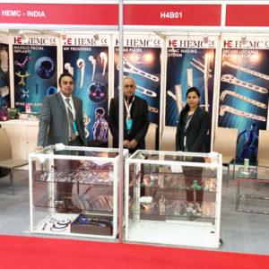 arab health 2019 for HEMC medical