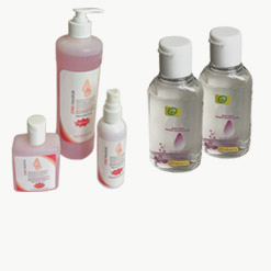 Gels, Lotions & Hand Sanitizers